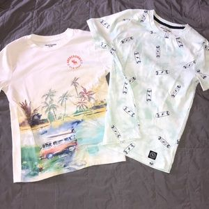 Other - GUC BOYS ABERCROMBIE SUMMER T-SHIRTS SIZE 13/14